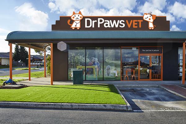 Dr Paws Delahey