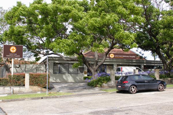 Lane Cove facade